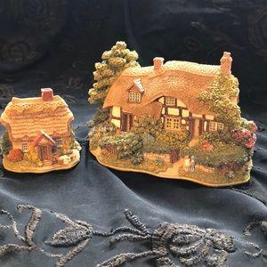 Lilliput Lane-Meadowsweet cottage & Wash Day